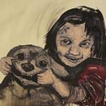 """Retrato #2"", 2011, óleo sobre tela, 80x100 cm"