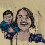 """""""Situações #1"""", 2011, óleo sobre tela, 20x20 cm"""