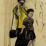 """""""Situações #9"""", 2011, óleo sobre tela, 20x25 cm"""