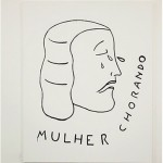 """""""Mulher chorando"""", 2012, 195x155 cm, acrílica sobre tela"""