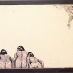 """""""Bundão na Piscina #2"""", 2011, óleo sobre tela, 18x13 cm"""