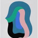 """""""Big Bang 02"""" 2012, 85x67,5 cm, acrílica sobre tela"""