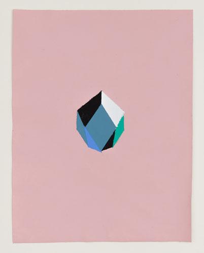 """""""Perfume 010"""", 2013, 29,2x22,5 cm, acrílica sobre lona"""