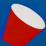 """""""Tambor 01"""", 1996, 21x16 cm, óleo sobre tela"""
