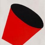 """""""Tambor 02"""", 1996, 21x16 cm, óleo sobre tela"""