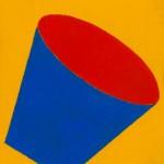 """""""Tambor 03"""", 1996, 21x16 cm, óleo sobre tela"""