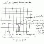 """""""Assonâncias de silêncios [coleção]"""", 2007-2010, detalhe de impresso da publicação sonora"""