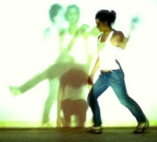 """""""Nós"""", 2011, projeção/ação"""
