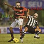 """""""Movimento Dadá 1"""", 2006, impressão ink jet, madeira e vidro, 50x50 cm"""