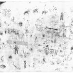 Sem título, 2011, grafite, aquarela, guache e pastel sobre papel, 60x95 cm