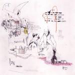 """""""Fake Doodles #02"""", 2011, grafite, aquarela, nanquim, pastel e lápis de cor sobre papel, 25x25 cm"""