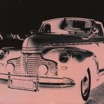 """""""Jogos Efêmeros 1"""", da série """"Carros"""", 2009, impressão ink jet, madeira e vidro, 62x82 cm"""