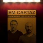 """""""EM CARTAZ"""", 2013, instalação, dimensões variáveis, foto de Pedro Victor Brandão. Foto: Rafael Adorján."""
