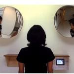 """""""Sistema de produção do desejo e indução ao consumo"""", 2005/ 2006, vista da instalação no Rumos Itaú Cultural, 2006, foto Amilcar Paker, diversos materiais,120cmx160cmx50 cm"""