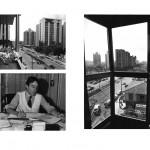 """""""A vida dos centros"""", 2011 – 2013, Inkjet print sobre papel algodão, montado sobre dibond e alumínio,instalação com 35 a 42 imagens , 35x42 cm (cada), medida total: 9 metros lineares, edição de 7+1 PA"""