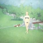"""""""Paisagem Campestre com Virgem e Caprino"""", 2013, óleo sobre tela, 150x140 cm"""