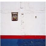 """""""Conteúdo-Forma I, 2010, intervenção, registro fotográfico e cartográfico (tríptico), 100x100 cm (fotografias), 20cmx20cm (mapa)"""