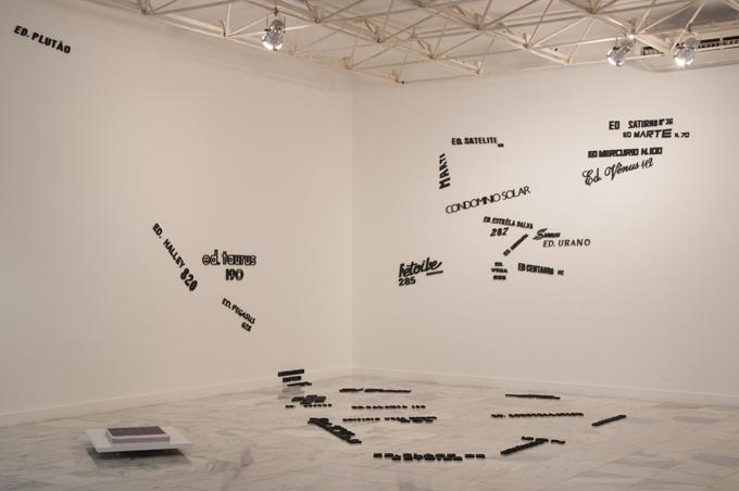 """""""Cosmografias (para Belo Horizonte)"""", 2014"""