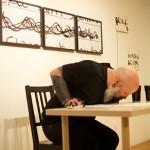 """""""O Escritor"""", 2013, ação, foto de Mariano Garcia"""