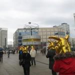 """""""Matadouro/ Boiada de Ouro"""", 2014, Berlim, Alemanha, foto de Ronald Duarte"""