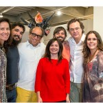 Os finalistas com o curador do MAM-Rio, Luiz Camillo Osorio e as coordenadoras do PIPA, Catarina Schedel e Lucrécia Vinhaes