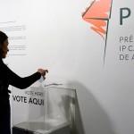 O primeiro voto deste ano foi de Maria Luz Bridger