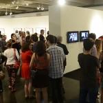 O público lotou os salões da exposição do PIPA durante a abertura