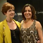 Marta Mestre e Lucia, assistentes de curadoria e de produção do MAM-Rio (respectivamente)