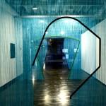 Obra de Daniel Steegmann Mangranné ocupa o corredor do Museu