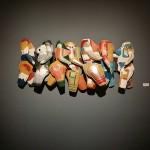 """""""Travessia"""", exposição """"Orifício"""", Galeria SESC Arsenal, Cuiabá, MT, 2014"""