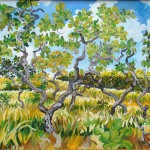 """""""Cerradinho"""", 2008, óleo sobre tela, 50x70 cm"""