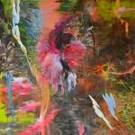"""""""Macaco Branco"""", 2013-2014, óleo sobre tela, 200x150 cm"""