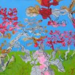 """""""Paisagem Primaveril"""", 2006, óleo sobre tela, 70x100 cm"""
