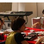 """""""Estação Iracema"""", 2014, transmissão e gravação de conversa com a cartomante Iracema musicada pela DJ Urubu Príncipe, 1', foto de Pedro Belasco"""