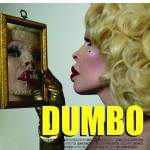 """Peça de divulgação (ímã de geladeira) do filme """"Dumbo"""", """"Projeto Heist Films Entertainment"""", 2015, impressão digital sobre folha de ímã, 4x4 cm"""