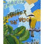 """""""Bem-te-vi"""", 2008, óleo sobre tela, 35x70 cm"""