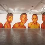 Sem título, 2014, site-specific, pintura acrílica sobre painel, 31ª Bienal de São Paulo, SP