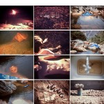 """""""Ciência das temperaturas"""", 2013, série de 12 imagens, fotografias cromo projetadas e refotografadas digitalmente, 25x37 cm (cada)"""
