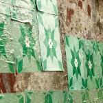 """Azulejos de Papel"", projeto desenvolvido desde 2008"