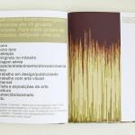 """""""Livro de artista"""", da série """"Autorretratos Estatísticos"""", 2012"""