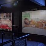 """Matisse x Flavia"", 2008, duas fotografias, vinil adesivo, dimensões variáveis"