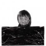 """Monolito"", 2011, grafite sobre papel, 60x60 cm"