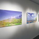 """""""Paisagens Street View"""", 2011, vista geral da exposição"""