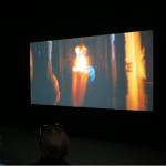 """""""Americano"""", vídeo de Berna Reale exibido no Pavilhão Brasileiro, foto de Patricia Rousseaux"""