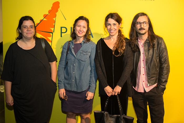 Os finalistas (da esquerda para a direita) Leticia Ramos, Marina Rheingantz, Virginia de Medeiros e Cristiano Lenhardt