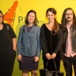 Finalistas de 2015, Leticia Ramos, Marina Rheingantz, Virginia de Medeiros e Vristiano Lenhardt (da esquerda para a direita)