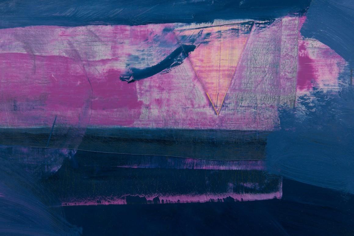 """drive in"", 2015, óleo sobre tela, 160x120 cm"
