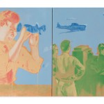 """Sem título, da série """"Maquinal"""", 2015, óleo sobre tela, 120 x 200 cm"""