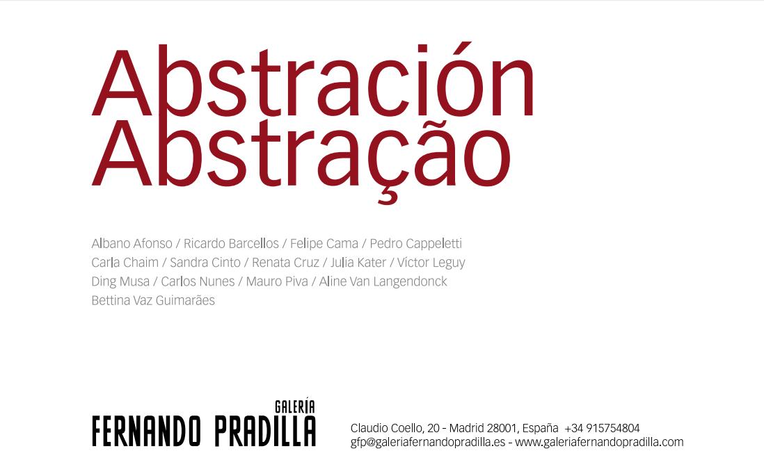 abstração convite