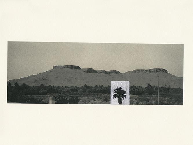 """""""Em algum lugar dos Atlas"""", 2013-2015, arquivo fotográfico manipulado, 30 x 22,5 cm"""